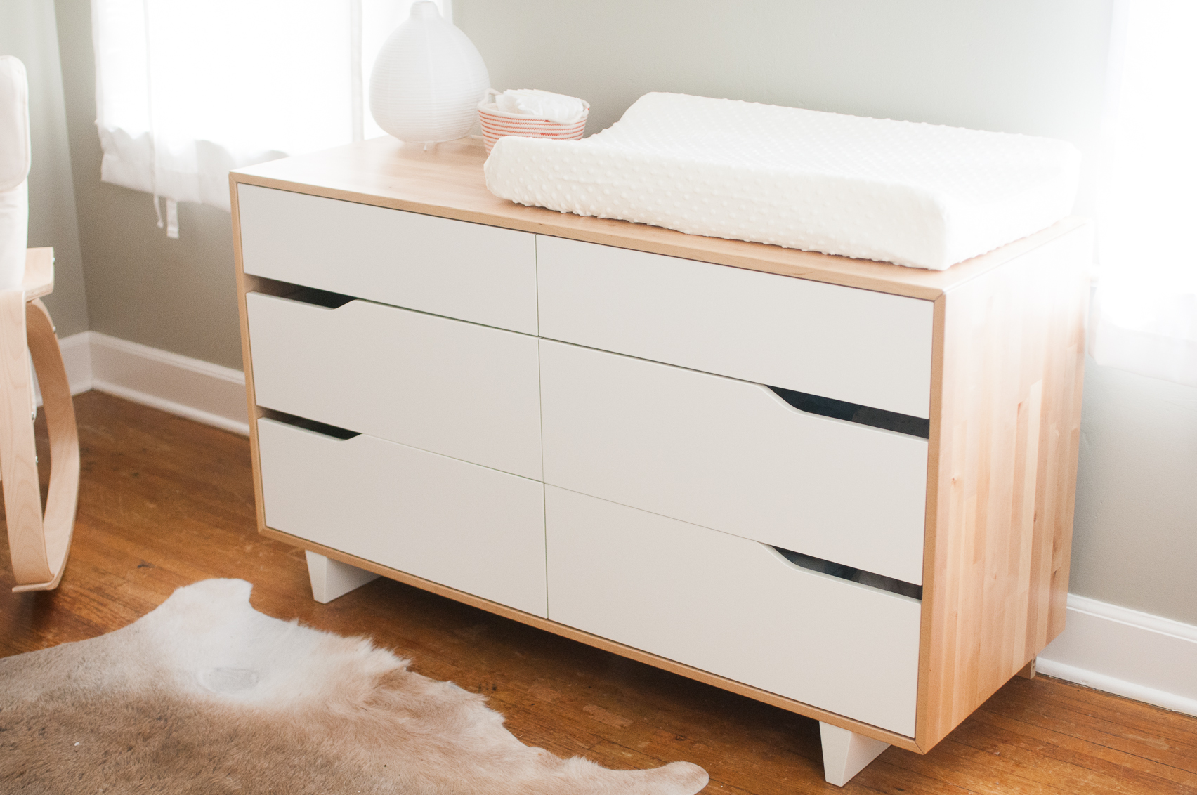 Baby Bed With Changing Table